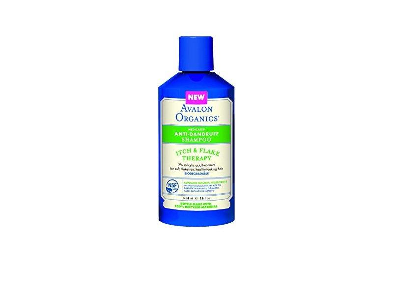 Avalon Organics Medicated Anti-Dandruff Shampoo, 14 Oz