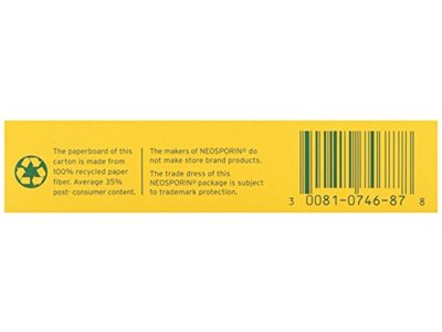 Neosporin First Aid Antibiotic Ointment Maximum Strength Pain Relief, 1-Ounce - Image 4