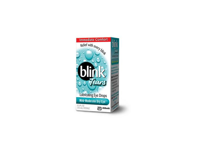 Blink Tears Lubricating Eye Drops, Mild-Moderate Dry Eyes, 0.5 fl oz