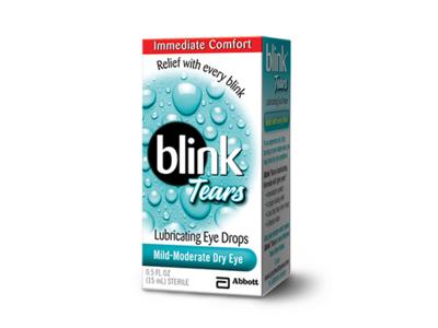 Blink Tears Lubricating Eye Drops, Mild-Moderate Dry Eyes, 0.5 fl oz - Image 1