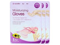 Epielle Assorted Moisturizing Gloves and Socks, Pack of 12 - Image 3
