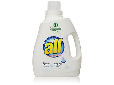 All Free Clear Liquid Laundry Detergent with Stainlifters, 100 fl oz