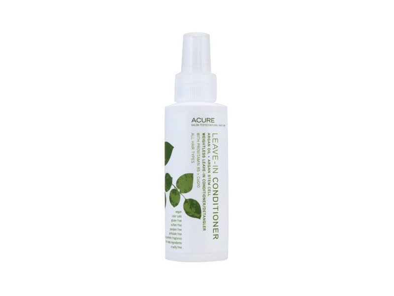 ACURE Conditioner Leave in Argan Oil + Argan Stem Cell, 4-Ounce by Acure