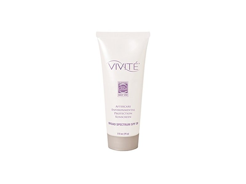 Vivite Aftercare Environmental Protection Sunscreen With SPF 30 2.5 fl oz.