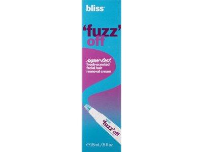 Bliss 'Fuzz' Off Facial Hair Removal Cream, 0.5 fl. oz. - Image 4