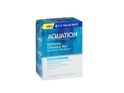 Aquation Hydrating Cleansing Bar, 4.5 oz (Pack of 4)