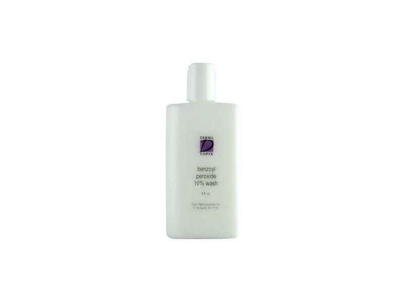Derma Topix Benzoyl Peroxide Wash, 7.75 oz