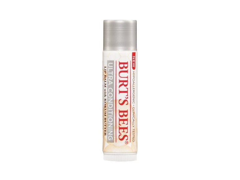Burt's Bees Ultra Conditioning Lip Balm with Kokum Butter (Pack of 2)