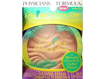 Physicians Formula Murumuru Butter Bronzer, 6675 Light Bronzer (Pack of 2)