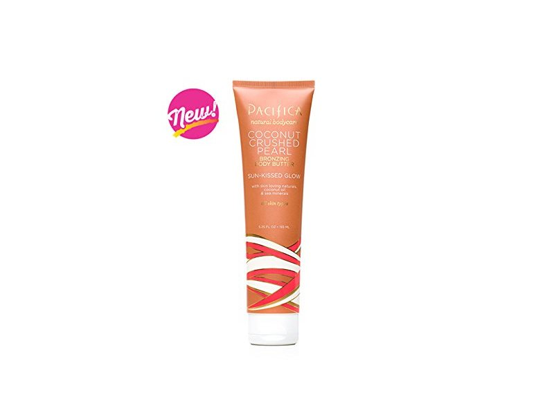 Pacifica Coconut Crushed Pearl Bronzing Body Butter Tube