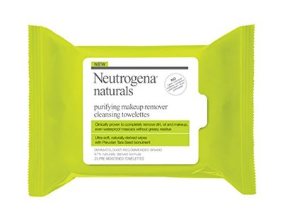 Neutrogena Naturals Purifying Makeup Remover Cleansing Towelettes, 25 Count - Image 5
