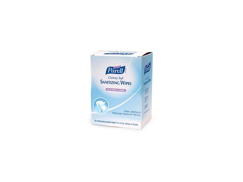 Purell Cottony Soft Sanitizing Wipes, johnson & johnson