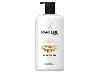 Pantene Pro-V Daily Moisture Renewal Hydrating Conditioner 28 fl oz with Pump (Product Size May Vary) - Image 9