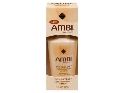 Ambi® Skincare Even & Clear™ Daily Moisturizer, SPF 30, 3 fl oz