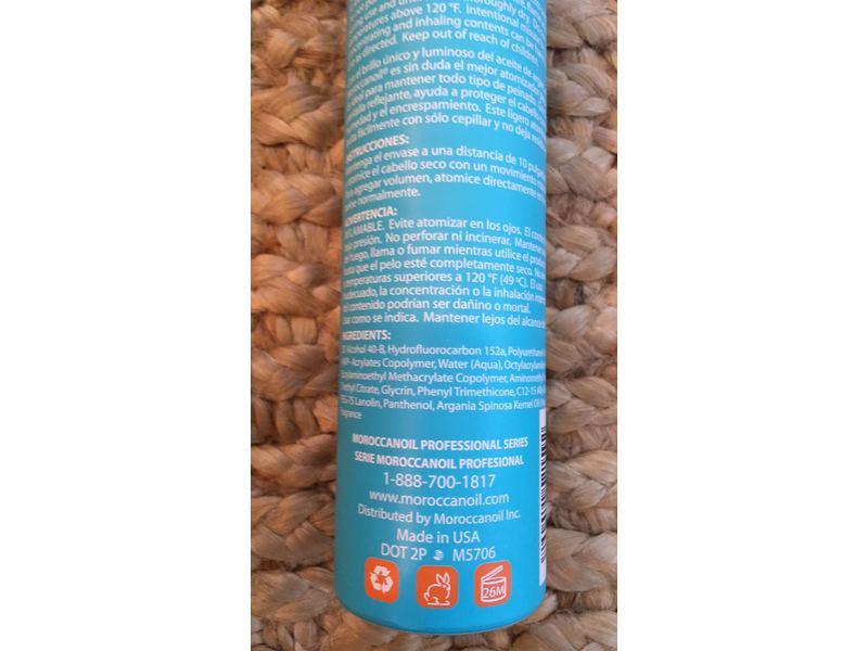 MOROCCANOIL® Luminous Hairspray, 250ml/8 5 fl oz Ingredients and Reviews