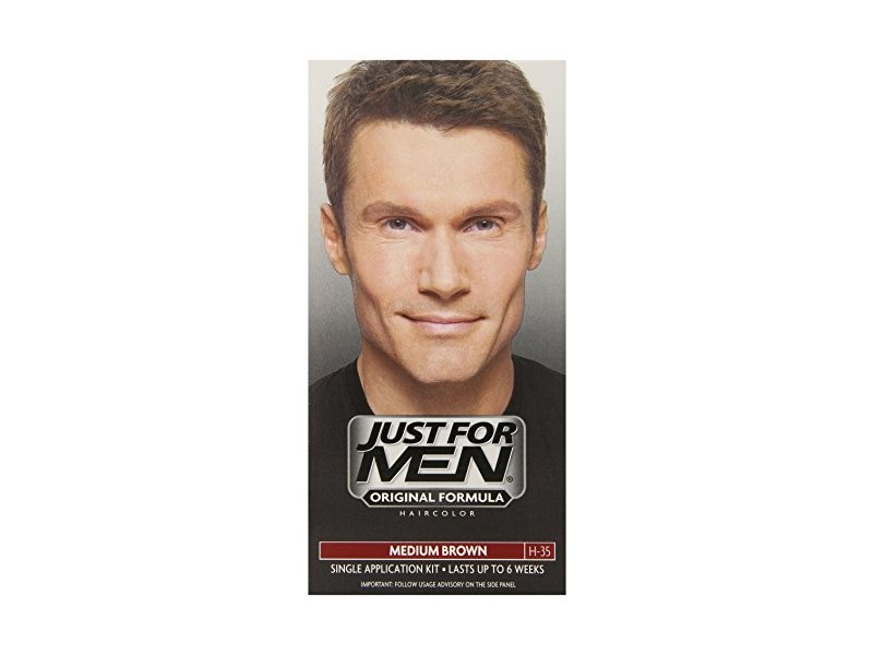 Just for Men Shampoo-In Hair Color, Medium Brown 35
