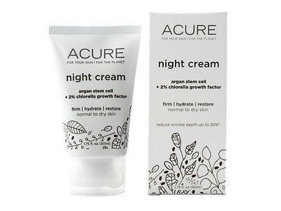 Acure Night Cream 1.75 fl oz