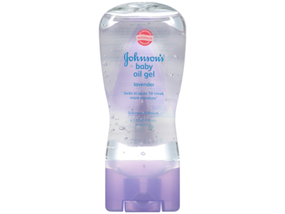 Johnson's Baby Oil Gel, Lavender, Johnson & Johnson - Image 1