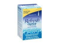 Refresh Optive Sensitive Lubricant Eye Drops Single Use Vials - 60 Ea - (Pack of 2) - Image 2