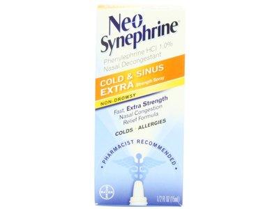 Neo-Synephrine Nasal Spray , Extra Strength Formula