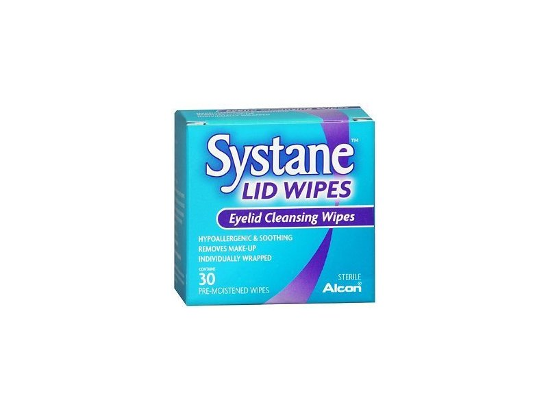 Systane Lid Wipes Eyelid Cleansing Wipes, Alcon Laboratories, Inc.