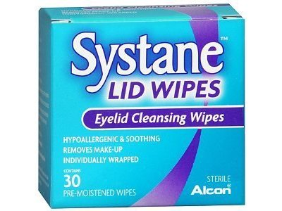 Systane Lid Wipes Eyelid Cleansing Wipes, Alcon Laboratories, Inc. - Image 1