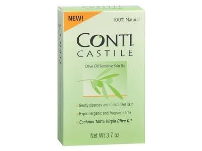 Conti Olive Oil Castile Bar Soap, Numark Laboratories - Image 1