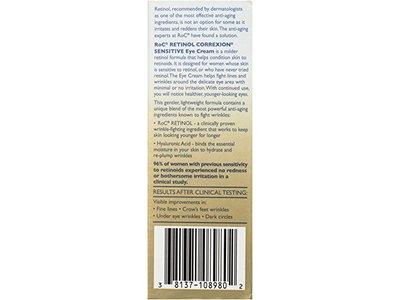 RoC Retinol Correxion Sensitive Eye Cream, 0.5 Ounce - Image 5