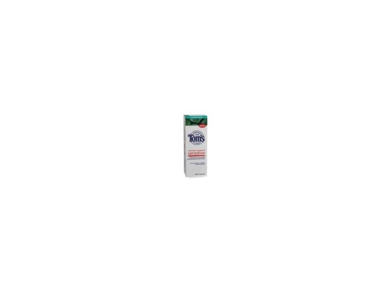 Tom's Of Maine Sensitive Soothing Mint Fluoride Toothpaste 4 oz.