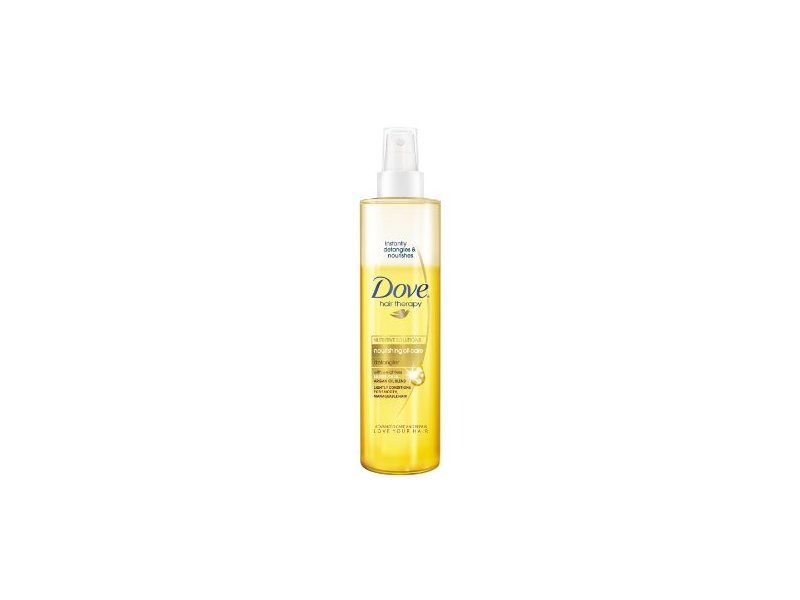 Dove Hair Therapy Nourishing Oil Care Detangler, 6.1 fl oz