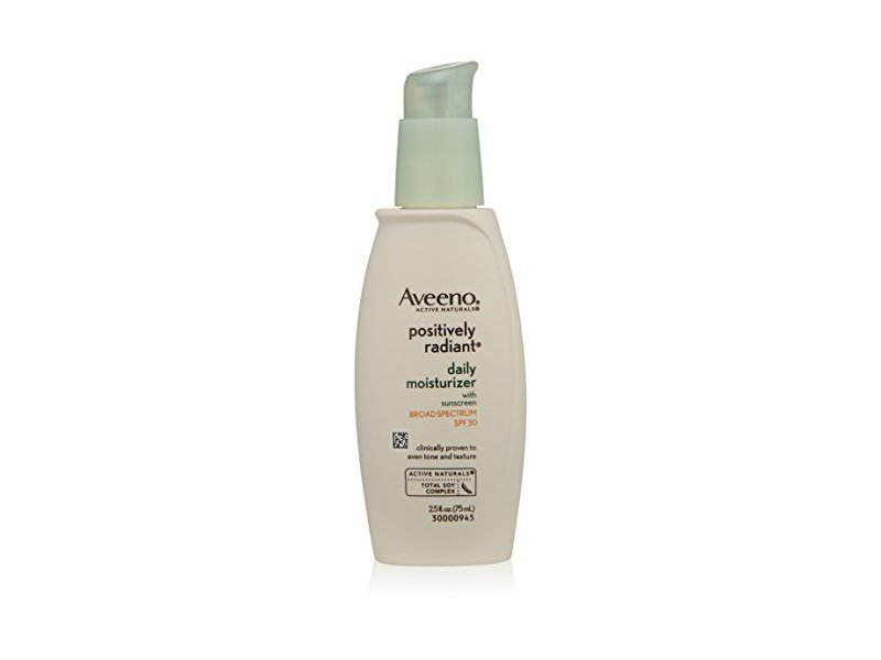 Aveeno Active Naturals Positively Radiant Daily Moisturizer, SPF 30, 2.5 Ounce