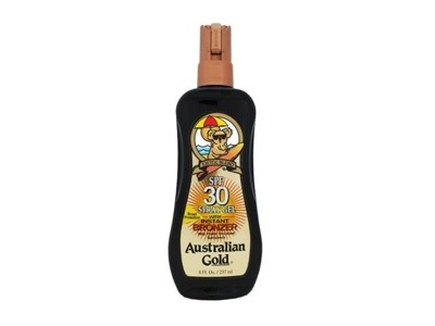 Australian Gold SPF 30 Spray Gel with Instant Bronzer, 8 fl oz