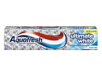 Aquafresh Ultimate White Toothpaste, 6-Ounce (Pack of 4)