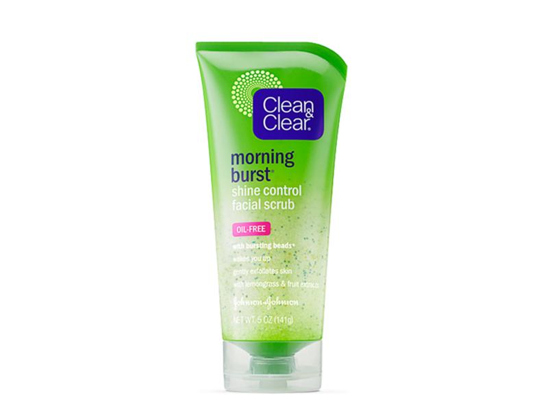 Clean & Clear Morning Burst Shine Control Scrub, johnson & johnson