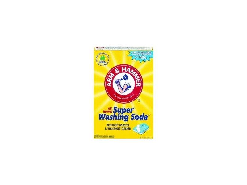 Arm & Hammer Super Washing Soda, 55 oz (Pkg of 5)