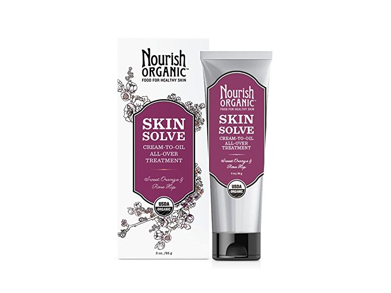 Nourish Organic Skin Solve, Sweet Orange and Palmarosa, 3 Ounce