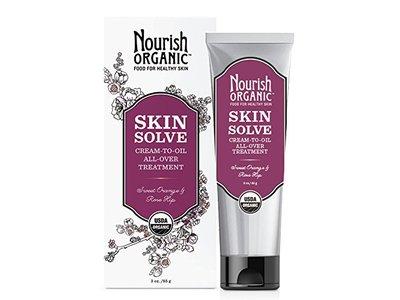 Nourish Organic Skin Solve, Sweet Orange and Palmarosa, 3 Ounce