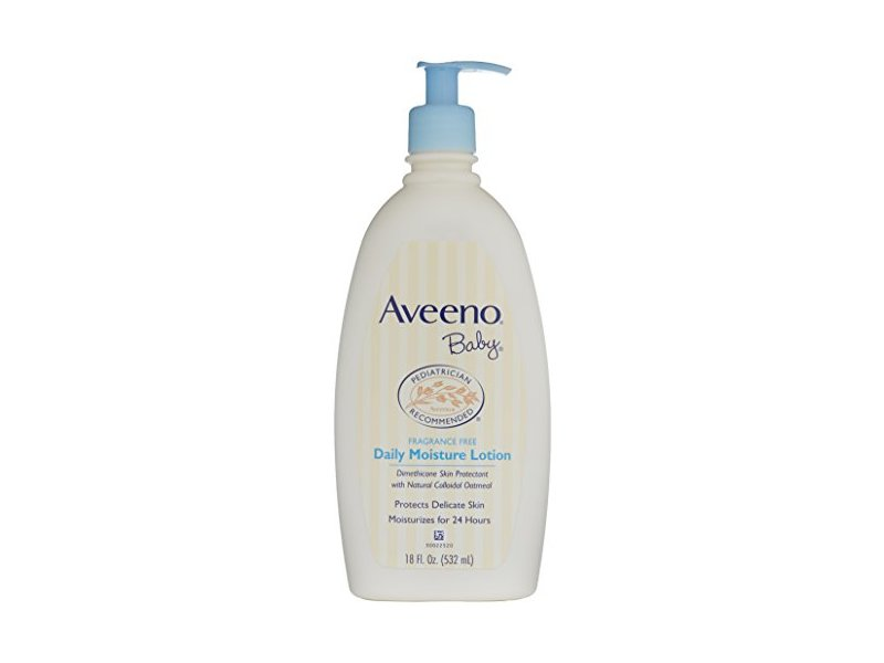 Aveeno Baby Daily Moisture Lotion Fragrance Free 18