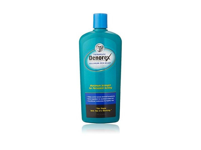 Denorex Therapeutic Maximum Itch Relief, Dandruff Shampoo plus Conditioner, 10oz