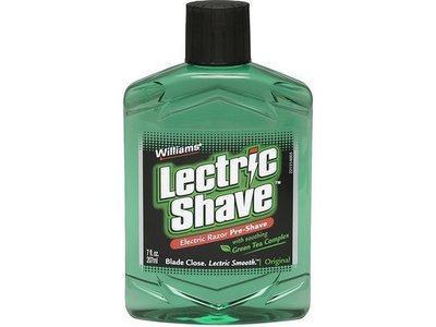 Williams Lectric Shave Lotion Regular - 7 Oz