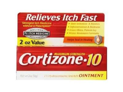 Cortizone-10 Maximum Strength 1% Hydrocortisone Anti-Itch Ointment, 2 oz - Image 1