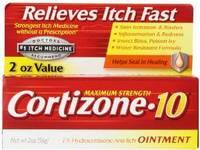 Cortizone-10 Maximum Strength 1% Hydrocortisone Anti-Itch Ointment, 2 oz - Image 2