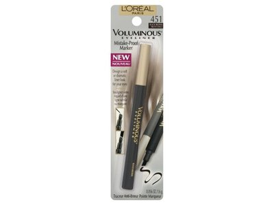 L'oreal Paris Voluminous Mistake-proof Marker Eyeliner - Black Brown