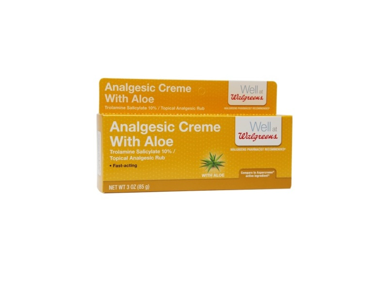 Walgreens Analgesic Cream with Aloe
