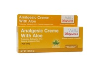 Walgreens Analgesic Cream with Aloe - Image 2