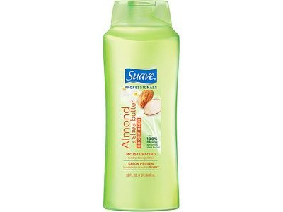 Suave Professionals Conditioner, Almond+Shea Butter, 28 oz
