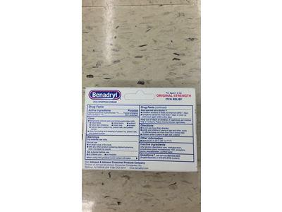 Benadryl Itch Stopping Cream, Original Strength, 1 oz - Image 4