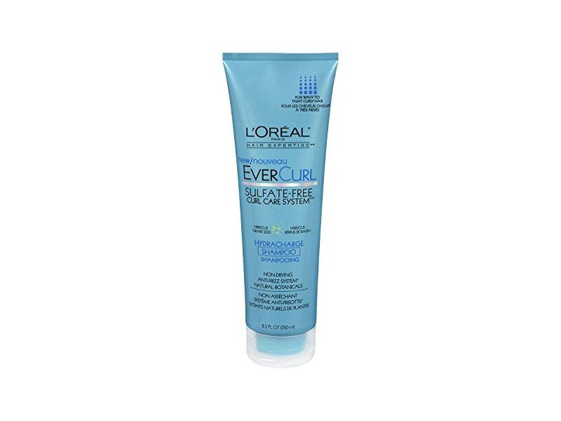 L'Oreal Paris EverCurl Hydracharge Sulfate-Free Shampoo, 8.5 Fluid Ounce