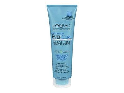 L'Oreal Paris EverCurl Hydracharge Sulfate-Free Shampoo, 8.5 Fluid Ounce - Image 1