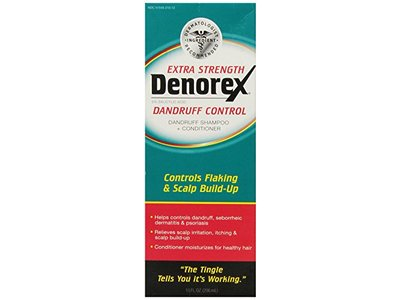 Denorex Extra Strength Dandruff Control Shampoo + Conditioner 10 Oz